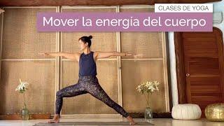 Hatha Flow para mover la energía del cuerpo