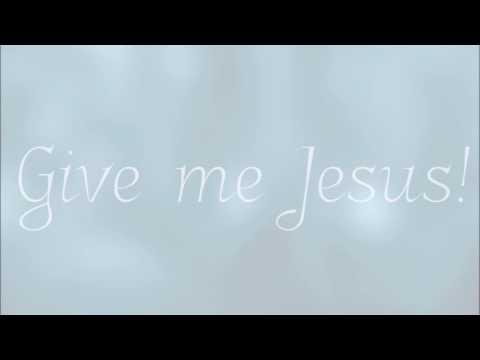 Give Me Jesus | Piano Solo