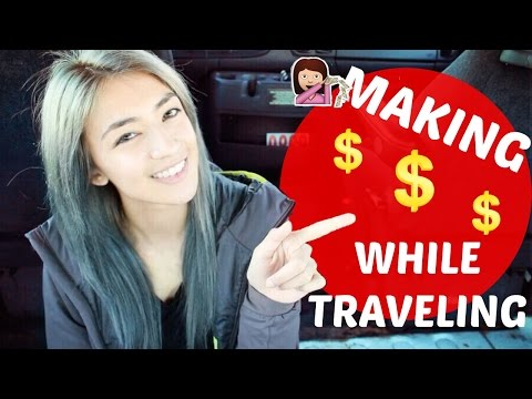 Living in a Van: TOP 10 Ways To Make MONEY While Traveling | Hobo Ahle