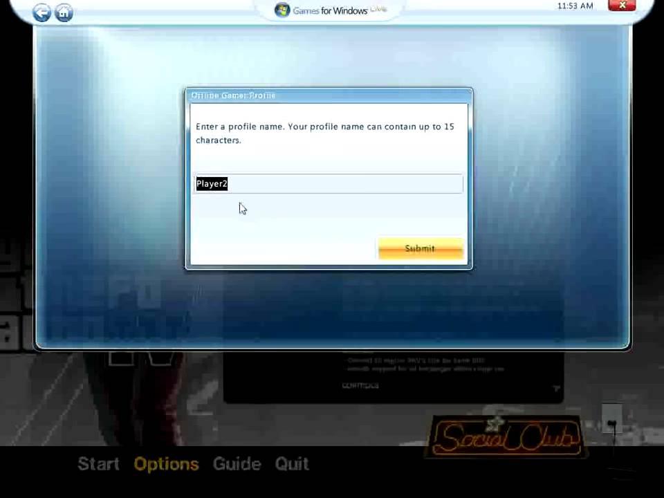 Gta 4 Create Offline Profile On Games For Windows Live