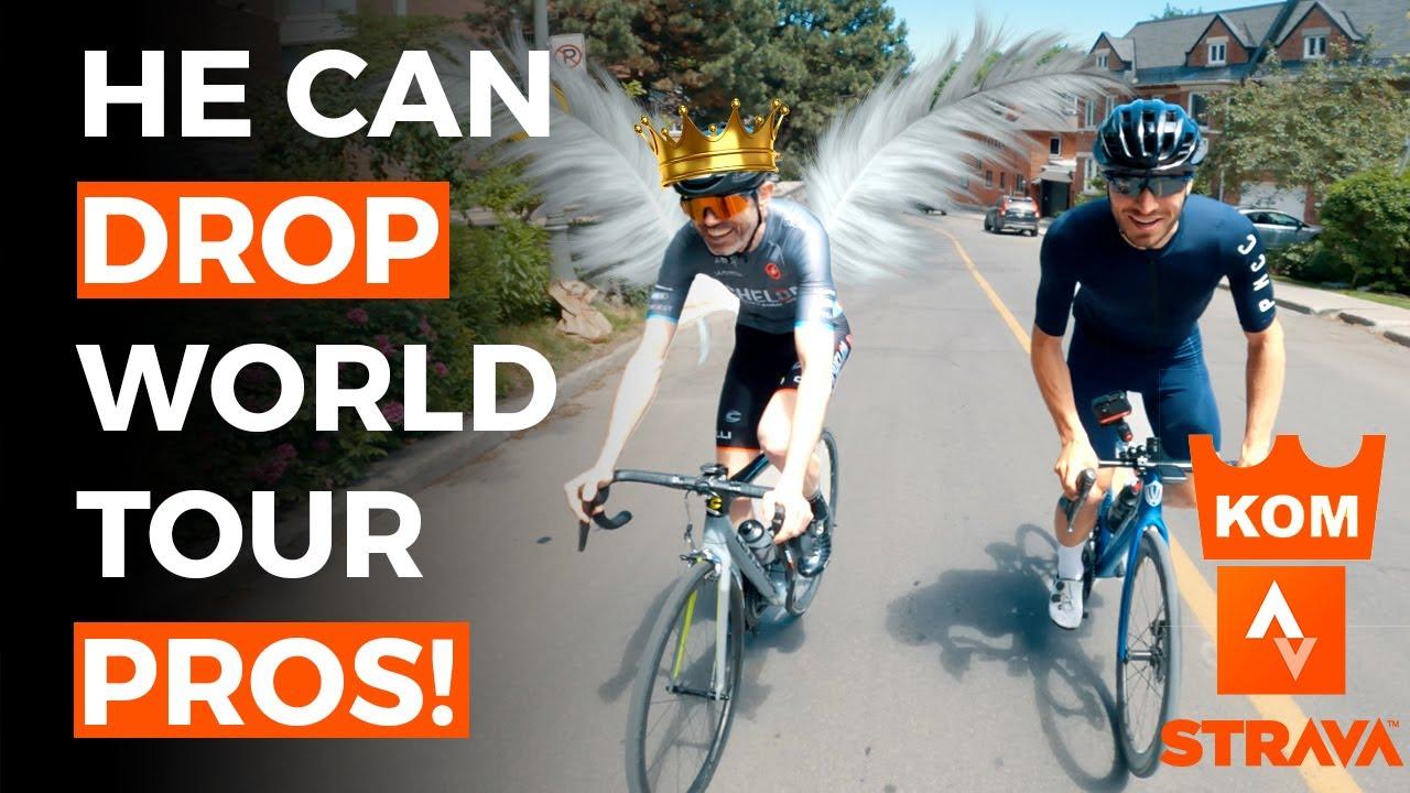 LIGHTWEIGHT Cyclist with 2325 STRAVA KOM (RANKED #9 IN THE WORLD) - Rowan Barrett the Climbing GOAT