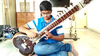 🇮🇳National Song By Jay Bhavsar On Sitar🇮🇳