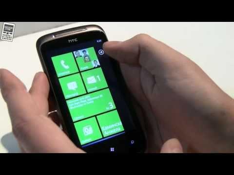 Windows Phone 7 на HTC Mozart