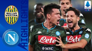 Hellas Verona 0-2 Napoli | Late Lozano Goal Seals Victory For Napoli! | Serie A Tim