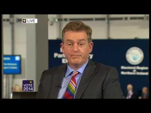 Northern Ireland European Live Elections 2014 PT 1