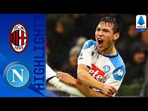 Milan 1-1 Napoli | Lozano & Bonaventura Score In Intense Head To Head Match | Serie A