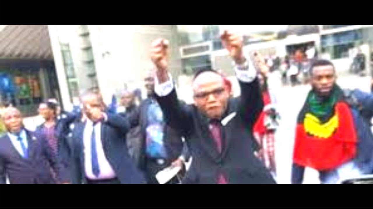 Nnamdi Kanu Address Biafrans After the EU Parliament Meeting