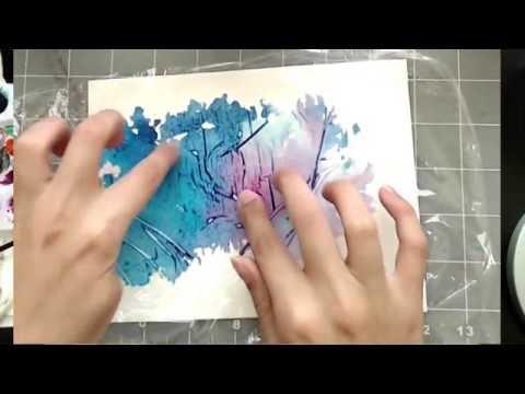 3 Simple Tricks for Unique Watercolor Textures