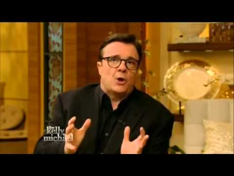 Nathan Lane on Live! with Kelly and Michael (Apr 15th, 2015)