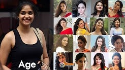 Top South Indian Actress Real Age   Heroines Age with Date of Birth