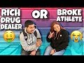 WOULD YOU WANT A RICH DRUG DEALER OR BROKE ATHLETE? |PUBLIC INTERVIEW (HIGH SCHOOL EDITION📚)