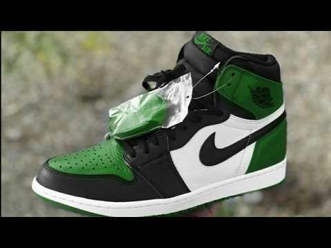 "AIR JORDAN 1 ""PINE GREEN"" FIRST LOOK"