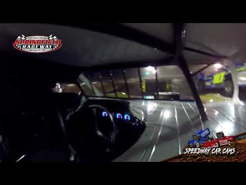 #3w Brennon Willard - Late Model - 11-24-19 Springfield Raceway- In Car Camera
