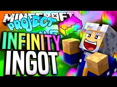 Minecraft - INFINITY INGOT - Project Ozone #196