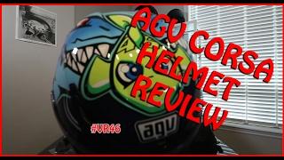 2015 misano rossi agv corsa helmet review