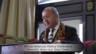 Mayor Jose Torres African History Celebration Paterson NJ