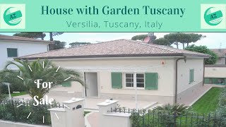 House with Garden for Sale Tuscany | Properties for Sale Versilia Tuscany | Villa for Sale Tuscany