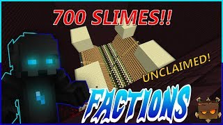 700 SLIMES SPAWNERS UNCLAIMED?! | SaicoPvP Factions Episode #79