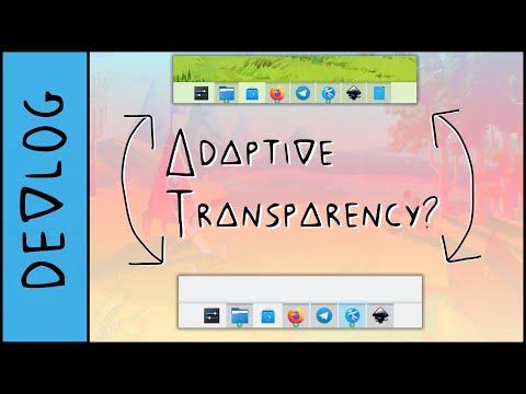 KDE Plasma 5.22: Adaptive Transparency