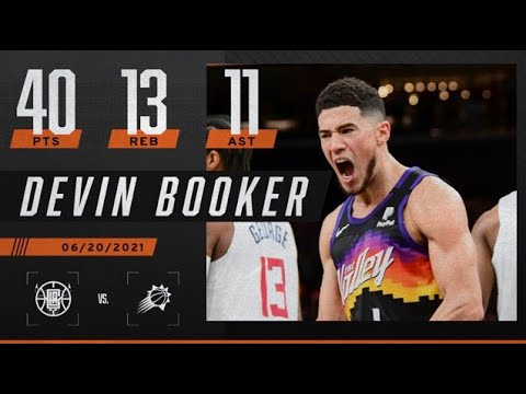 Devin Booker gets first career triple-double in the Western Conference Finals