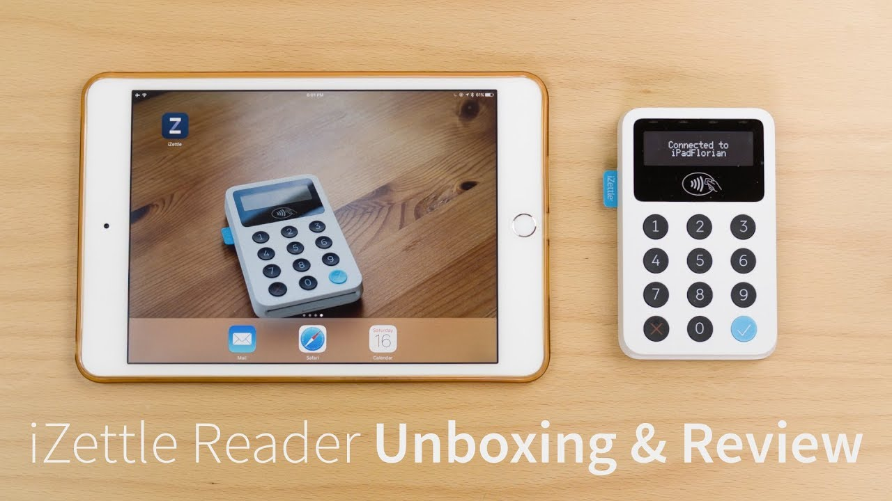 iZettle Reader - Unboxing & Review - Modern Card Payment Solution ...