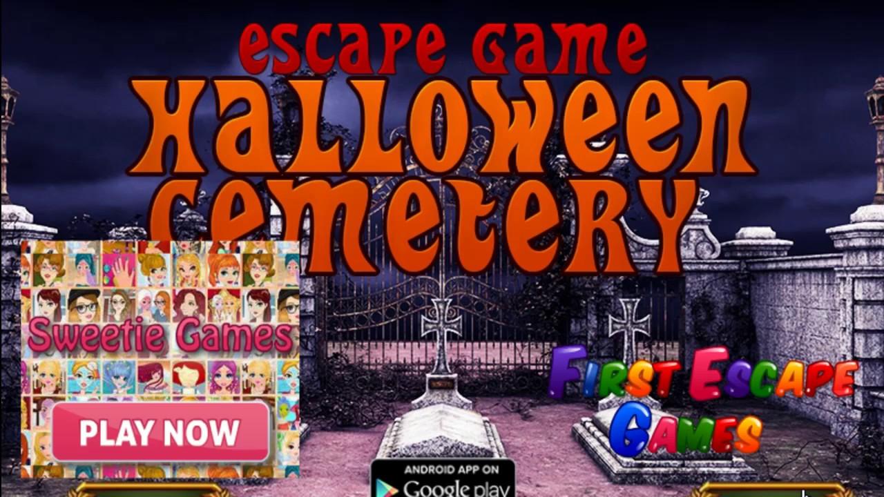 Escape Game Halloween Cemetery Walk Through