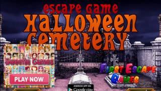 Escape Game Halloween Cemetery Walk Through - Firstescapegames