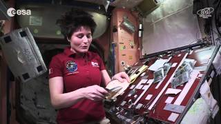 Cooking In Space Whole Red Rice And Turmeric Chicken