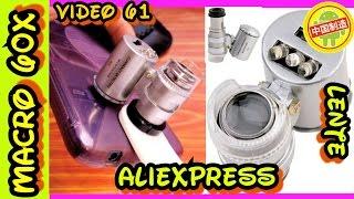 Lente Microscopio Macro Para Smarphone 60x Microscopica , Lente para Celular