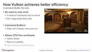 Vulkan: High efficiency on mobile