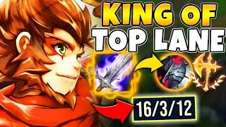 HOW TO STOMP SETT AS WUKONG! RANK 1 WUKONG NA GAMEPLAY - League of Legends
