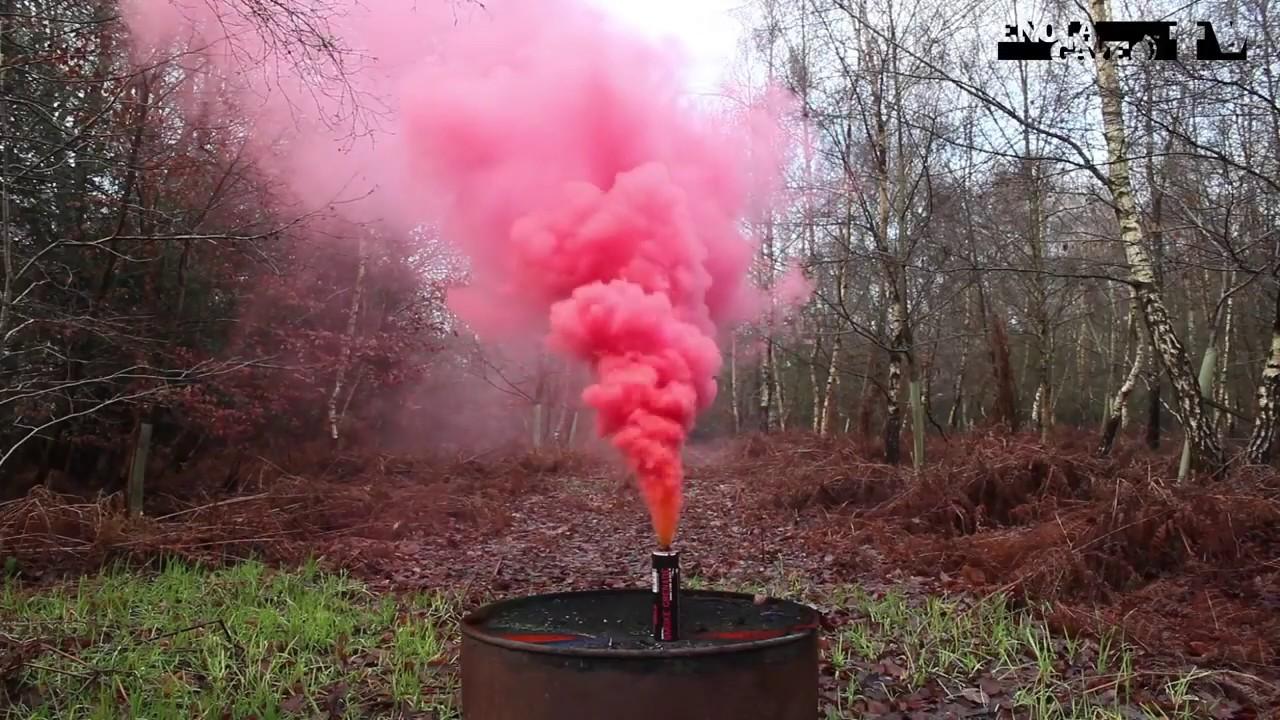 Enola Gaye Wirepull Smoke Grenade - Red