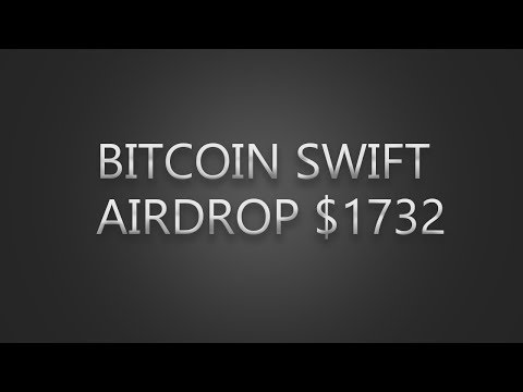 BITCOIN SWIFT AIRDROP | EARN 1000$ - 2000$ | LIVE PROOF $1732 | EVERYTHING ONLINE thumbnail