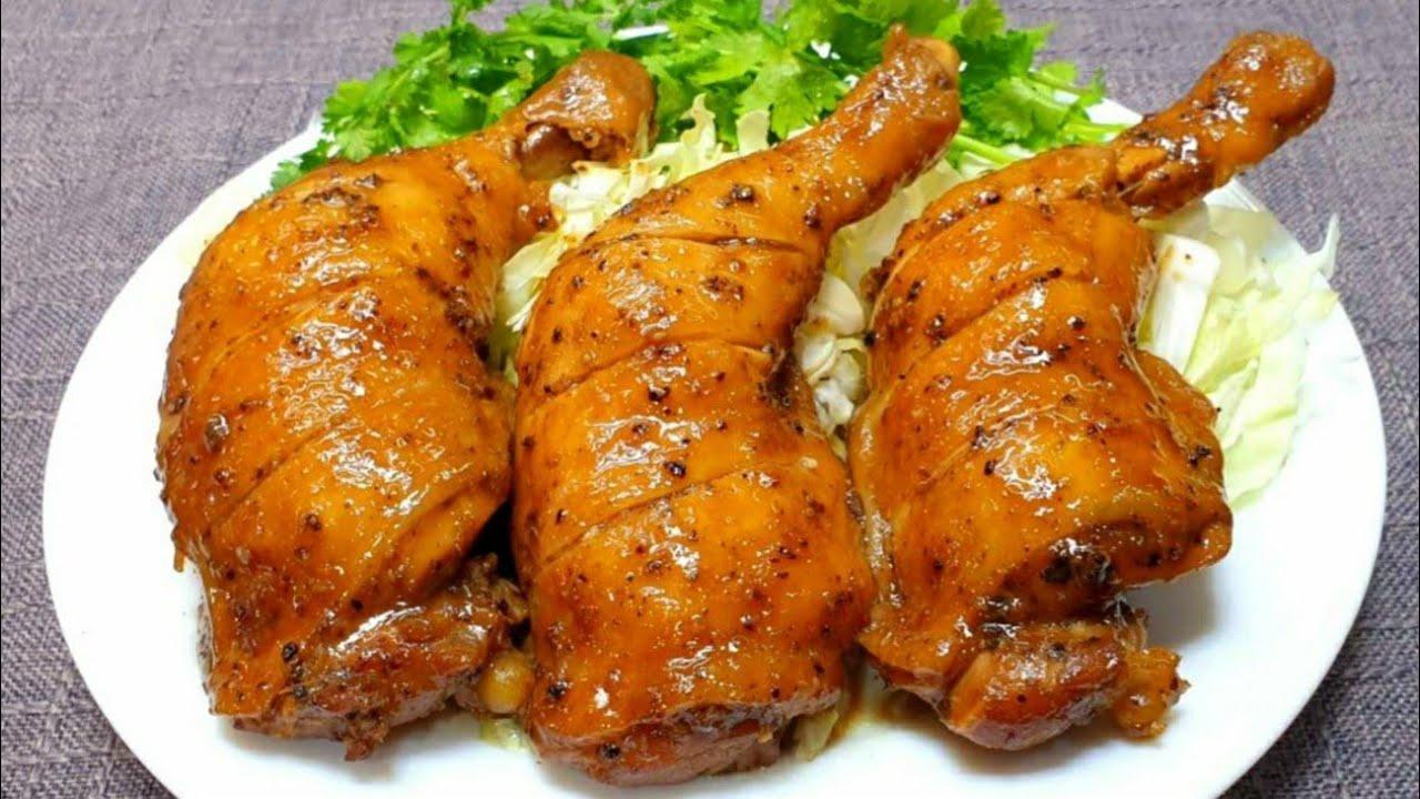 #ไก่อบพริกไทยดำ ไก่เนื้อนุ่ม หอมกรุ่นพริกไทยดำเเละเครื่องเทศ วิธีทำง่ายๆ ก็ได้ไก่อบอร่อยเลิศ