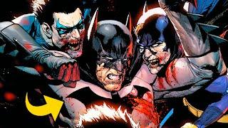 ¿Cómo Batman se convirtió en un Zombie y Murió? #Shorts