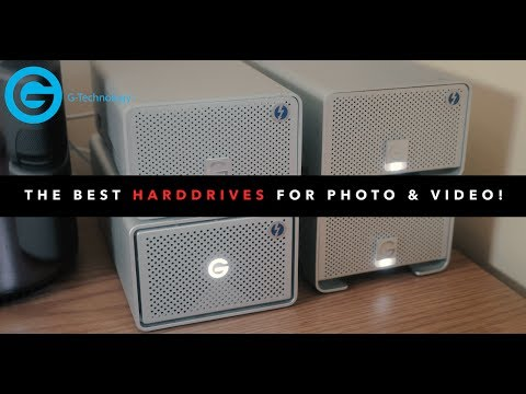 Best HARD DRIVES For Video Editing & Storage!