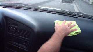 comment laver interieur voiture