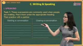 Tiếng anh lớp 10 - School Talks - Writing & Speaking