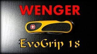 KnivesPassion recenzuje scyzoryk Wenger EvoGrip 18