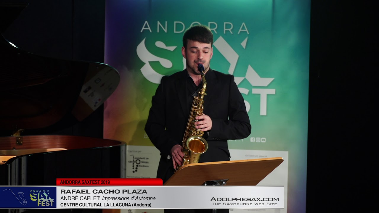 Andorra SaxFest 2019 1st Round   Rafael Cacho Plaza   Impressions d´Automne by Andre Caplet