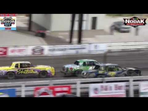 Nodak Speedway IMCA Hobby Stock Heats (Motor Magic Night #1) (9/1/18)