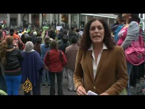 Ecuador re-elects Rafael Correa to third term