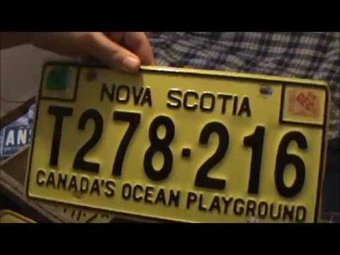 Canadian & American License Plate Collection Part 1 (Mostly Canadian)