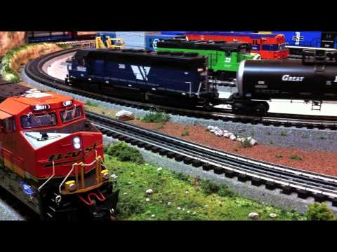 Bobot's Trains O-Gauge Model Railroad Layout #3