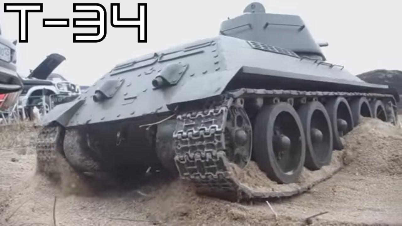 RC Tank 34 Scale 18 Handmade