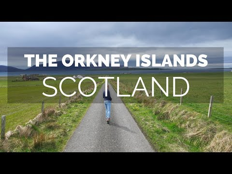 A family holiday to the Orkney Islands, Scotland