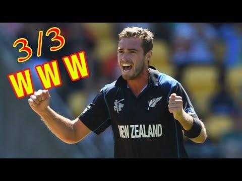 Tim Southee Hat Trick vs Pakistan || Best Hat-trick In Cricket