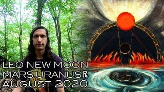 Leo New Moon Auġust 2020 Uranus & Mars Retrograde - Tensions Heralding the Knight's Quest to Courage