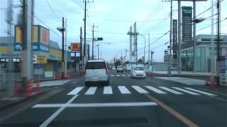 [drive japan]国道126号線 八日市場-銚子(Route126 Yokaichiba-Choshi) Part.1
