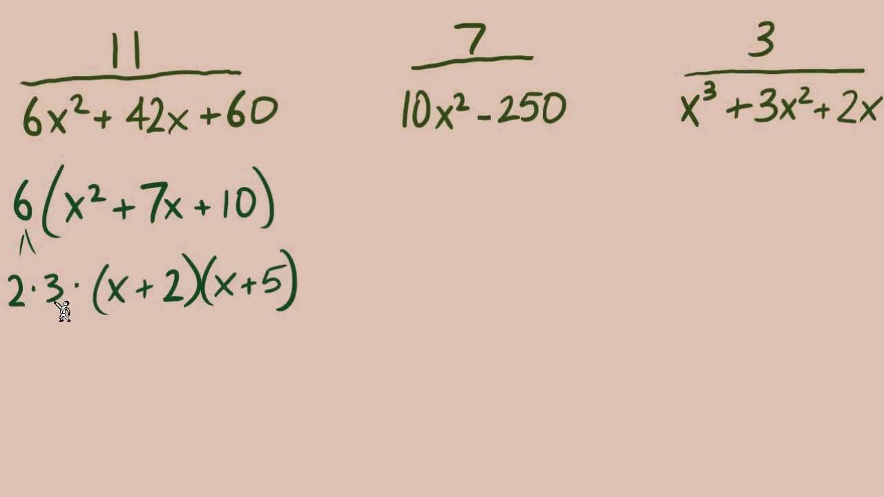 Worksheet Lcm Of 25 15 10 rational expressions 10 lcm part 2 of youtube 2